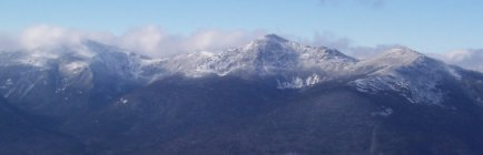 Northern Presidentials as Seen from Middle Carter